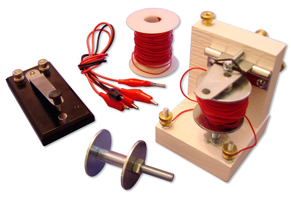 Reinventing Morse: Build your own telegraph kit